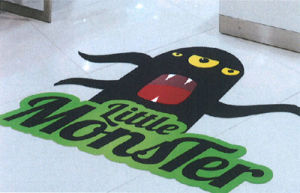 Quality Printed Full Colors Fun Graphics Vinyl Floor Decals Stickers pictures & photos