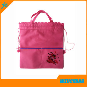 Promotional Cartoon Drawstring Back Bag for School Bag Women Bag pictures & photos