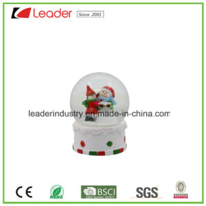 65mm Polyresin Building Water Ball with Snow for Tourist Gifts pictures & photos