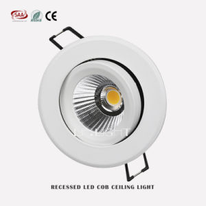 LED Ceiling Light Adjustable COB 7W 10W 12W Downlight  pictures & photos