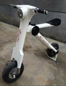 2016 New Fashion Smart Bike Mini Folding Electric Scooter Zc-Et-01