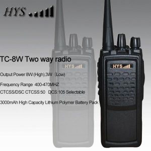 8W High Frequency Bangladesh Professional Military Walkie Talkie Tc-8W