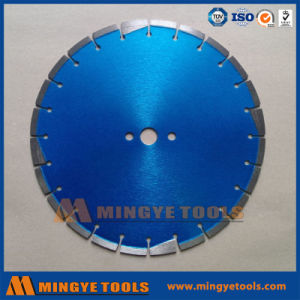 Key Hole 400mm Diamond Concrete and Asphalt Blade for Road Saw Cutting pictures & photos