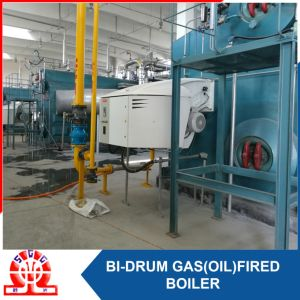 Double-Drum Diesel Gas and LNG Fuel Fired Steam Boiler pictures & photos