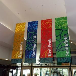 High Impact and Cost Effective Perfect Solution for Conference Event or Promotion Unlimited Colors Fabric Banner pictures & photos