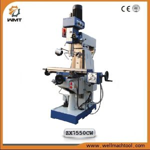 Universal Turret Milling Machine (Turret Milling Drilling Machine ZX7550CW) pictures & photos