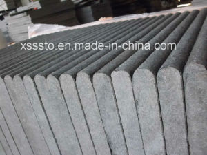 Flamed Black Basalt G684 with Bullnose Edge for Swimming Pool pictures & photos