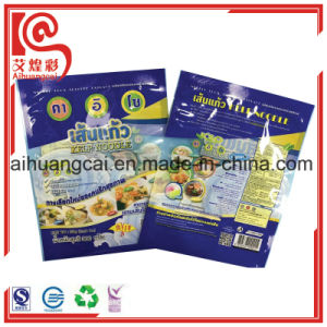 Customized Logo Printing Heat Seal Plastic Flat Bag for Noodles pictures & photos