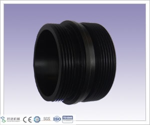 POM Part, CNC Turning Plastic Connector Part for Water Treatment with Light Weight pictures & photos