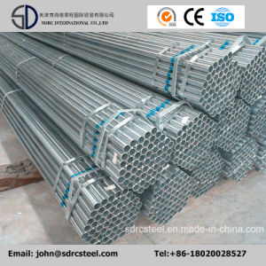 Hot DIP Galvanized Round Steel Pipe (Tube) for Structure pictures & photos