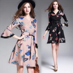 Fashion Women Slim Fit A-Line Dress (A138)