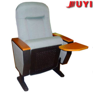 Chinese Golden Factory Brand New Optional Colors with Wooden Writing Tablet Concert Hall Indoor VIP Seat Auditorium Chair pictures & photos