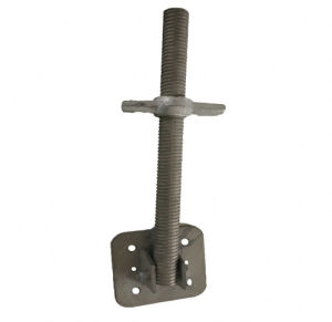 Scaffolding Adjustable Swivel Screw Base Jack for Construction pictures & photos