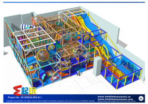 Priate Themed Indoor Playground Equipment with Classic Items pictures & photos