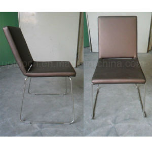 General Use Good Quality Leather Chair with Chrome Leg (SP-LC239) pictures & photos