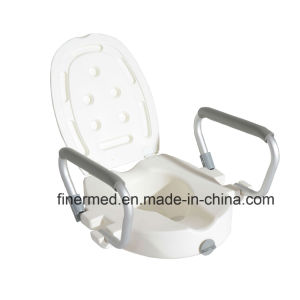 Elevated Raised Toilet Seat with Removable Arms pictures & photos