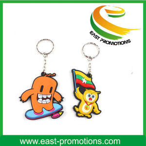 Custom Cheapest Soft PVC Plastic Keychain for Promotion pictures & photos