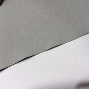 0.4mm Fluffy Microfiber PU Leather for Phone Pads Case Lining Hx-L1701 pictures & photos