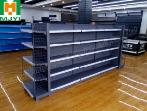 Supermarket Stereo Backplane Shelf Convenient Display Retail Store Shelf pictures & photos