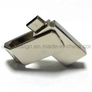 Metal Promotional OTG USB Flash Drive (UL-OTG019) pictures & photos