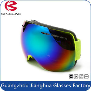 Frameless Snow Googles Windproof UV400 Motorcycle Snowmobile Ski Goggles pictures & photos