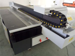 Seiko 3D Wainscoting Panel UV Flatbed Printing Machine pictures & photos