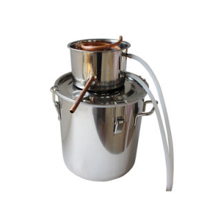 8L 2gal Convenient Portable Stainless Steel Alcohol Whiskey Distiller pictures & photos