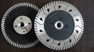 Diomond Turbo Saw Blade with Flange pictures & photos
