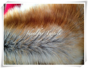Luxury Gold Fox Faux Fur /Fake Fur pictures & photos