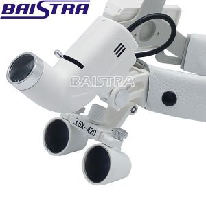 2017 Popular 3.5X Dental Surgical Binocular Magnifier with Headlight pictures & photos