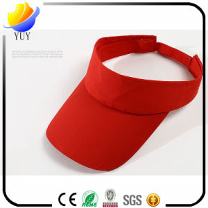 Custom Logo Solid Color Eaves Casual Visor Cotton Baseball Cap pictures & photos