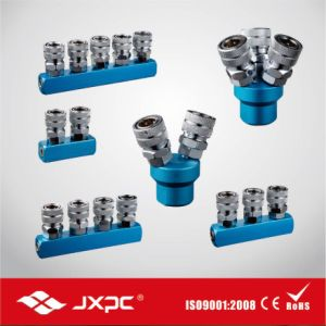 High Flow Steel Socket Quick Coupler pictures & photos
