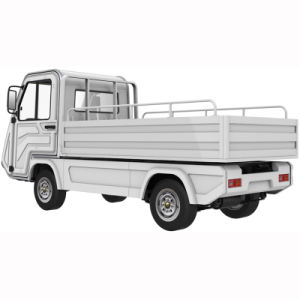 1000kgs Loading Weight Simple Enclosed Cab Electric Mini Truck pictures & photos