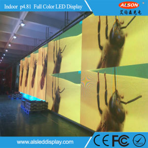 Hot P4.81 Indoor Curved Stage Rental LED Display pictures & photos