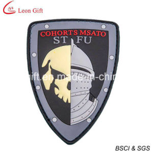 Cheap Custom PVC Patches 3D PVC Patches with Velcro Backing pictures & photos