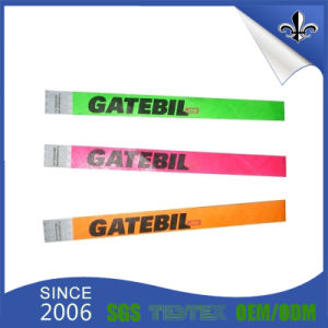 Factory Cheap Custom Logo Paper Wristband for Promotion pictures & photos