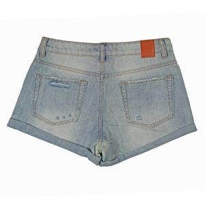 Ladies Fashion &Nice Washing Wholesale Short Denim (MY-031) pictures & photos