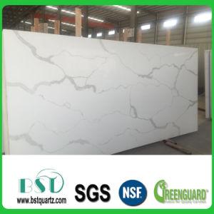 Buliding Material Calacatta White Quartz Stone pictures & photos