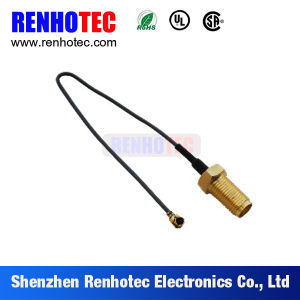 Double SMA Coaxial Waterproof Cable Assembly pictures & photos