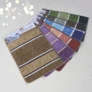PP Doormats TPR Backing Fashion Design with 6 Colors and Design