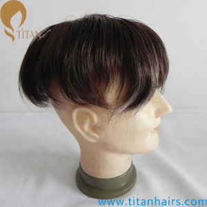 Highlight Color Custom Pieces Hair Systems for Men pictures & photos