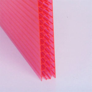 UV Protected Plastic Polycarbonate PC Hollow Sheet pictures & photos