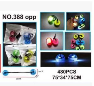 at Stock Colorful Finger Yoyo Ball LED Fidget Thumb Chucks pictures & photos
