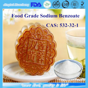 Food Additive Preservative Sodium Benzoate for Cake CAS: 532-32-1 pictures & photos