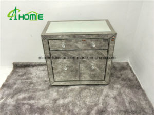 Modern Mirrored Bedside Chest Mirrored Nightstand Bedroom Mirrored Chest pictures & photos