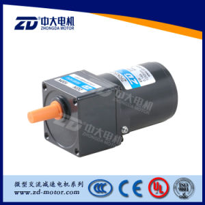 AC Reversible Gear Motor Normal Type, zd motor, 60mm10W pictures & photos