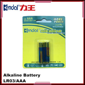 Lr03 1.5V AAA Alkaline Battery pictures & photos