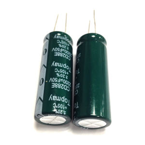 Hot Selling Long Life Aluminum Electrolytic Capacitor Tmce30 pictures & photos