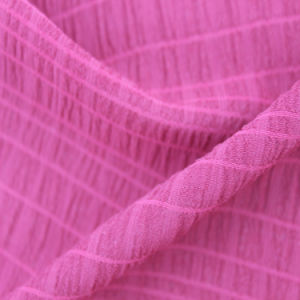 Polyester Bubble Crinkle Fabric pictures & photos