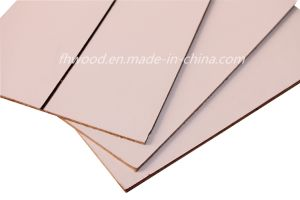 3mm Paper Overlaid Decorative Hardboard Wtih Golden Grooves pictures & photos